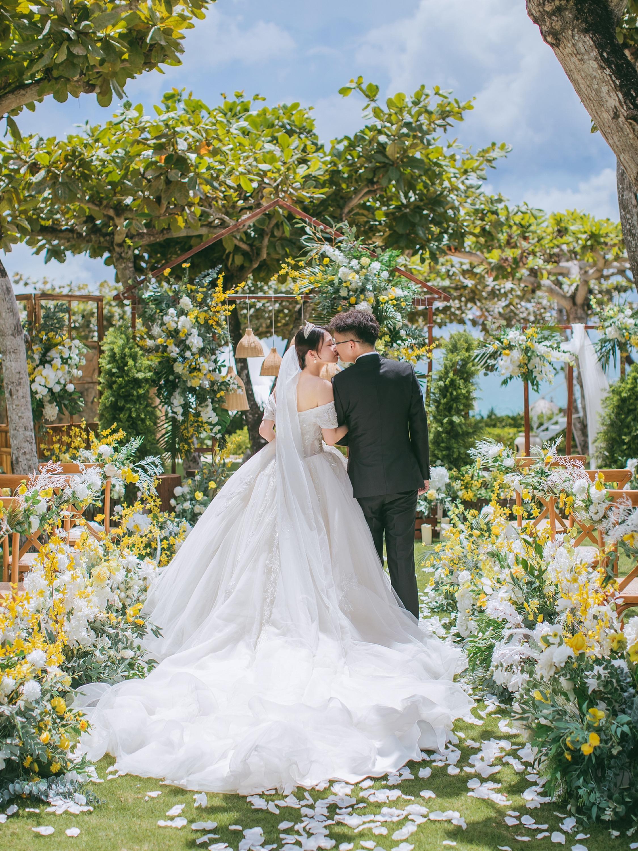 梦中的海岛婚礼,真的实现了💯