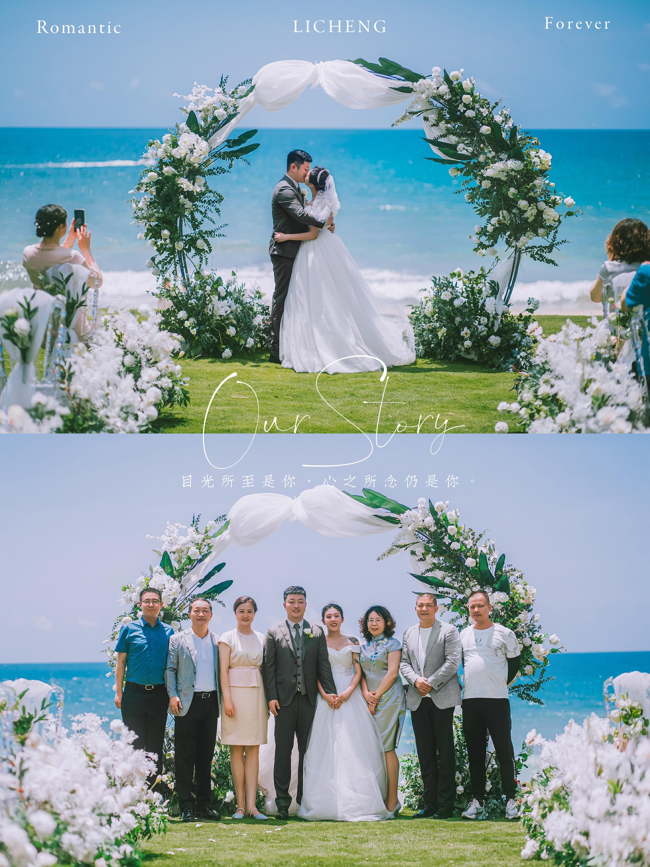 幸福值拉🈵的三亚海岛婚礼·旅行结婚