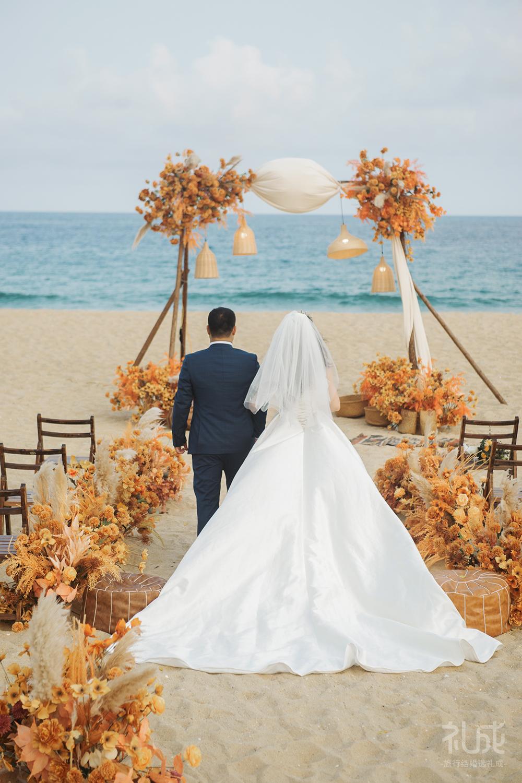 我的沙滩🏖️婚礼💒