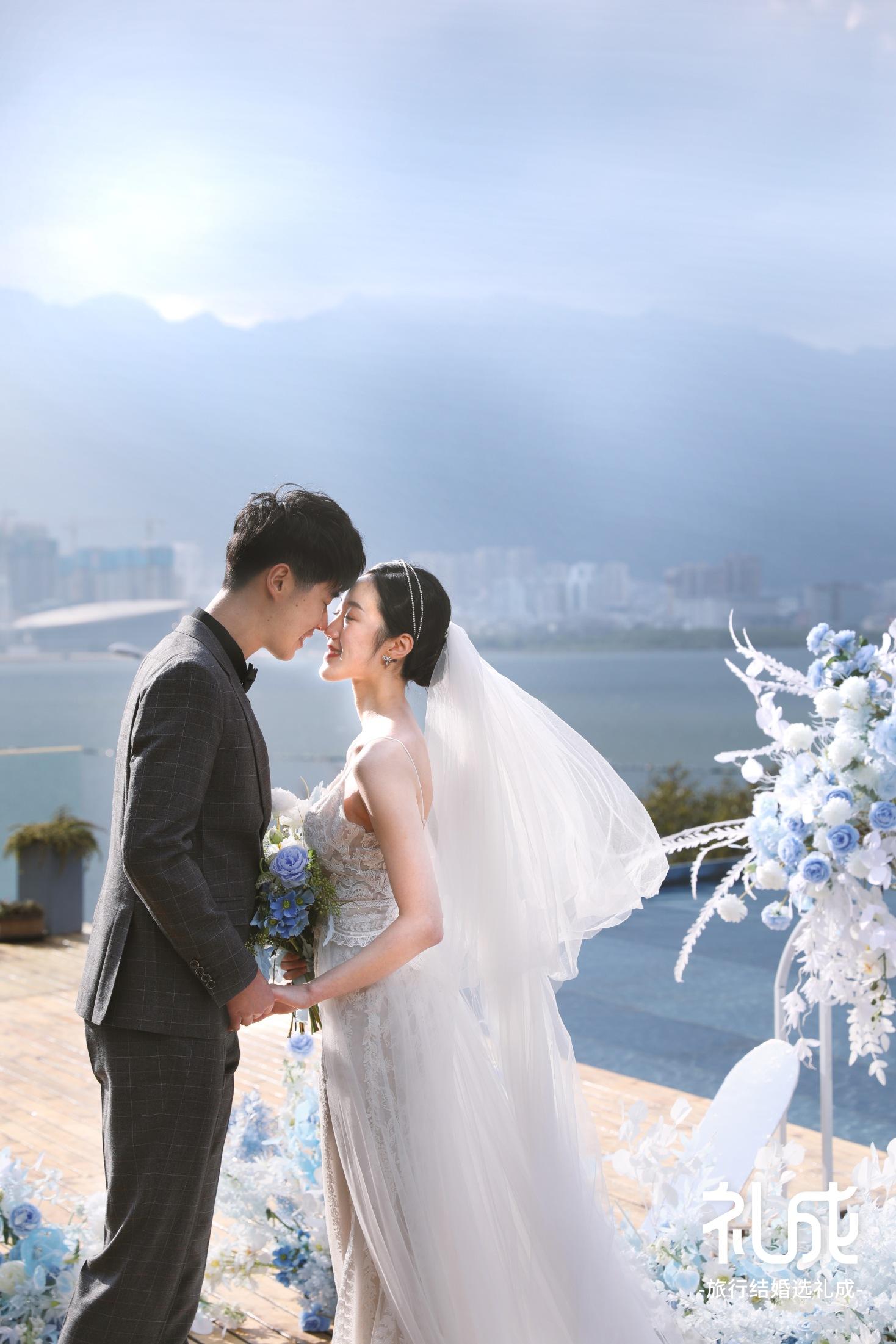 仙人掌🌵先生和向日葵🌻小姐的大理水台婚礼💒